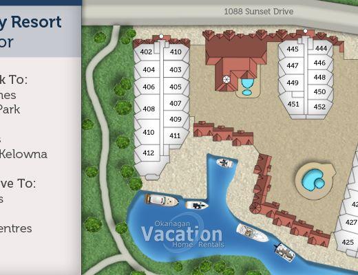 Discovery Bay Resort - #435 - 1 Bdrm + Den - Kelowna (KRA)