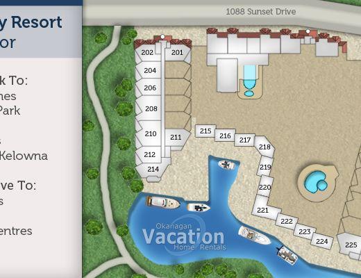 Discovery Bay Resort - #240 - 2 Bdrm - Kelowna (CVH)
