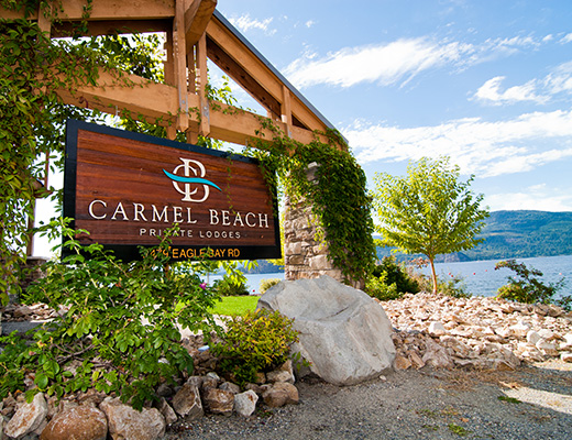 Carmel Beach Private Lodges #02 - 5 Bdrm Lake Side - Shuswap