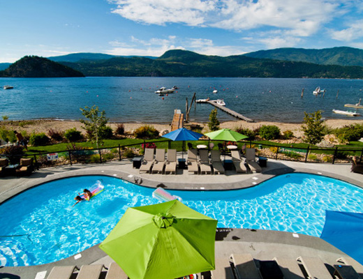 Carmel Beach Private Lodges #05 - 4 Bdrm Lake Side - Shuswap