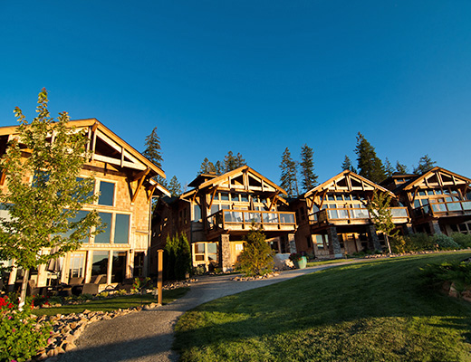 Carmel Beach Private Lodges #22 - 3 Bdrm Upper Lake View - Shuswap