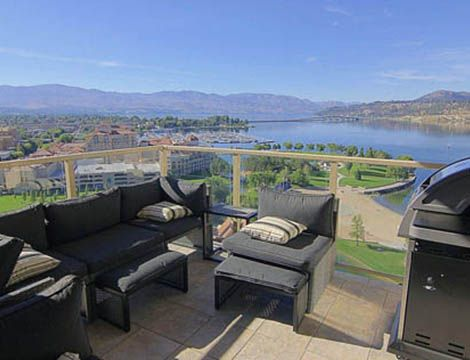 Sunset Waterfront Resort - #1602 - 3 Bdrm + Den - Kelowna (KRA)