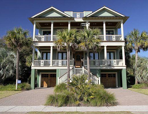 Palm Blvd 2803 - 6 Bdrm + Den HT w/Pool - Isle Of Palms
