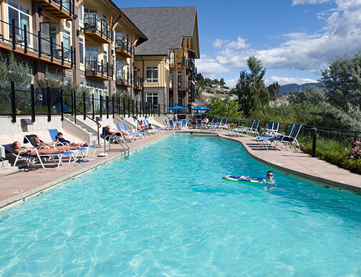 Summerland Waterfront Resort - Studio Bluffview - Summerland