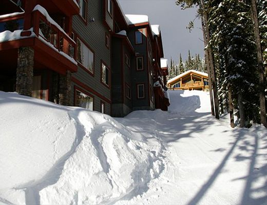 Snowbanks #1 - 3 Bdrm + Loft + Den HT - Big White