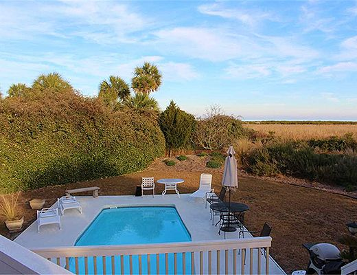 Beachcomber Run 3611 - 5 Bdrm + Loft w/ Pool - Seabrook Island