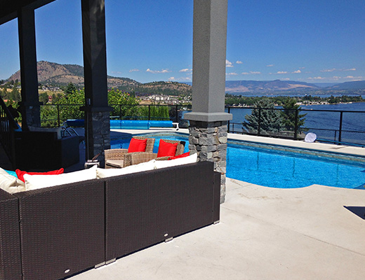 Lakeview Luxury - 6 Bdrm + Den w/ Pool - West Kelowna (CVH)
