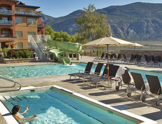 Watermark Beach Resort - 1 Bdrm + Den City View- Osoyoos
