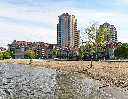 Sunset Waterfront Resort - #805 - 1 Bdrm + Den - Kelowna (KRA)