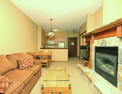 Snow Creek Lodge #404 - 1 Bdrm (Standard) - Fernie