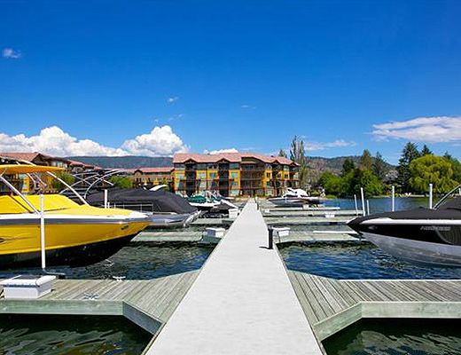 Barona Beach Lakefront Resort #6303 Boat lift - 3 Bdrm - West Kelowna