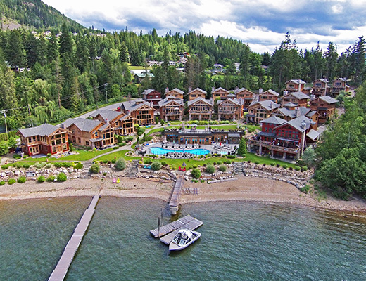 Carmel Beach Private Lodges #14 - 3 Bdrm Lake View - Shuswap
