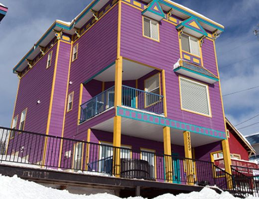 Purple Palace Main - 4 Bdrm + Loft HT (P) - Silver Star