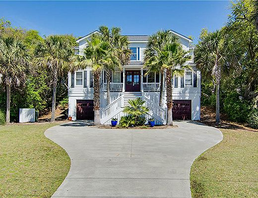 Shad Row 7 - 4 Bdrm w/ Pool - Isle Of Palms