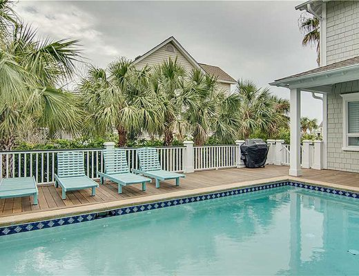 Palm Blvd 3103 - 5 Bdrm w/Pool - Isle Of Palms