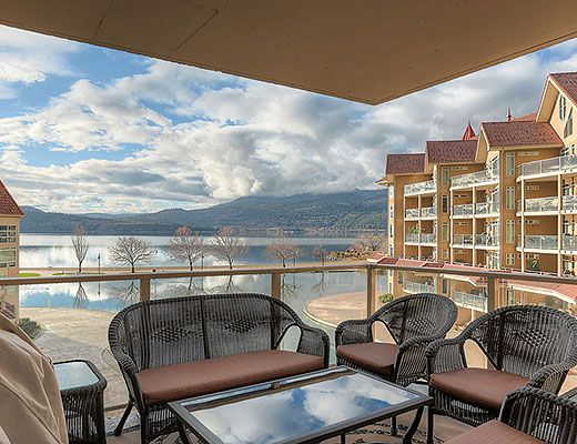 Sunset Waterfront Resort - #406 - 2 Bdrm - Kelowna (KRA)