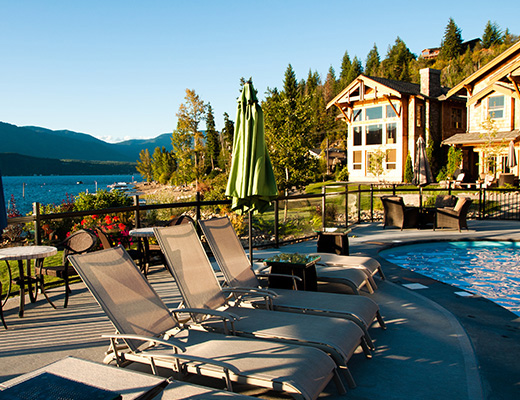 Carmel Beach Private Lodges #01 - 4 Bdrm Lake Side - Shuswap