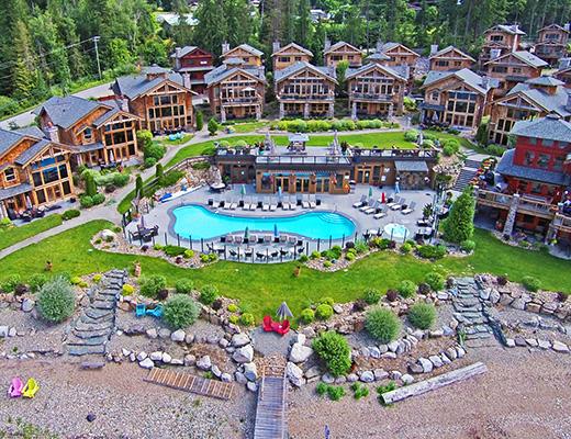 Carmel Beach Private Lodges #01 - 4 Bdrm Lake Side - Shuswap