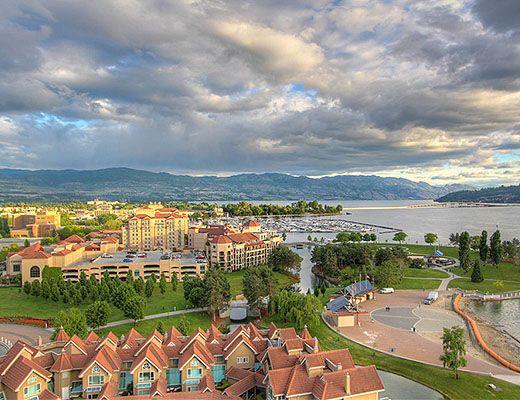 Sunset Waterfront Resort - #1401 - 2 Bdrm + Den - Kelowna (KRA)
