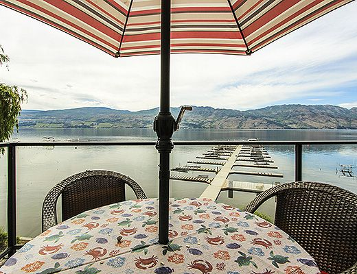 Barona Beach Lakefront Resort #1303 - 2 Bdrm + Den - West Kelowna (CVH)