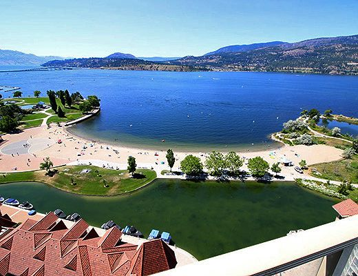Sunset Waterfront Resort - #1804 - 3 Bdrm + Den - Kelowna (KRA)
