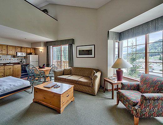 Hearthstone Lodge #228 - Studio + Loft - Sun Peaks