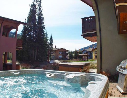Crystal Forest #4 - 2 Bdrm HT - Sun Peaks