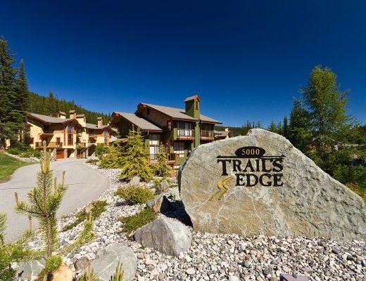 Trails Edge #17 - 2 Bdrm + Den HT - Sun Peaks
