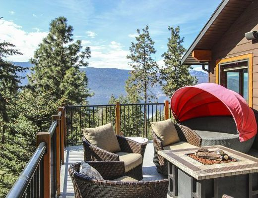 Treetop Lakeview Home - 2 Bdrm + Loft  - Lake Country