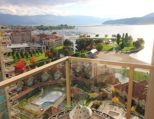 Sunset Waterfront Resort - #1503 - 1 Bdrm -+ Den - Kelowna (KRA)