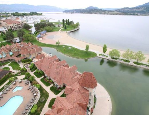 Sunset Waterfront Resort - #1507 - 3 Bdrm - Kelowna (KRA)