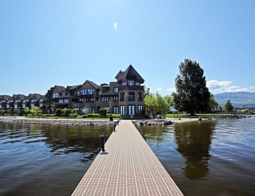 Mission Shores - Garden Suite - Beachfront - 2 Bdrm + Den HT - Kelowna