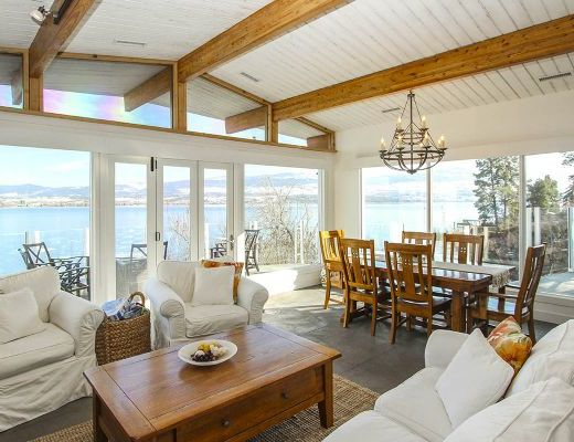 The Beach House - 5 Bdrm HT plus Boat Lift - Kelowna (CVH)