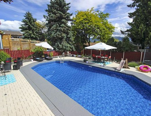 Forecast: Family Fun - 3 Bdrm w/ Heated Pool - Kelowna