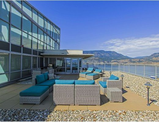 Waterscapes Skye Tower PH1 Penthouse - 2 Bdrm - Kelowna