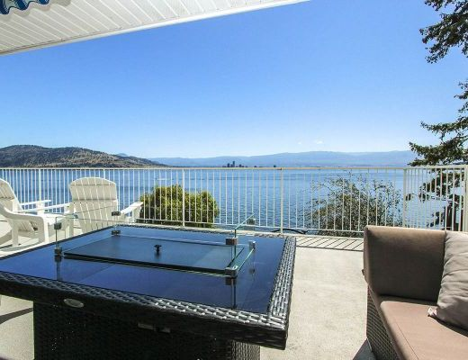 Kelowna Waterfront - 5 Bdrm Lakefront with Lift - West Kelowna (CVH)