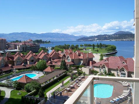 Sunset Waterfront Resort - #603 - 1 Bdrm + Den - Kelowna (KRA)