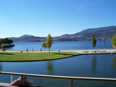 Sunset Waterfront Resort - #215 - 2 Bdrm + Den - Kelowna (KRA)