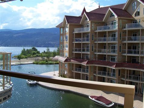 Sunset Waterfront Resort - #407 - 2 Bdrm + Den - Kelowna (KRA)