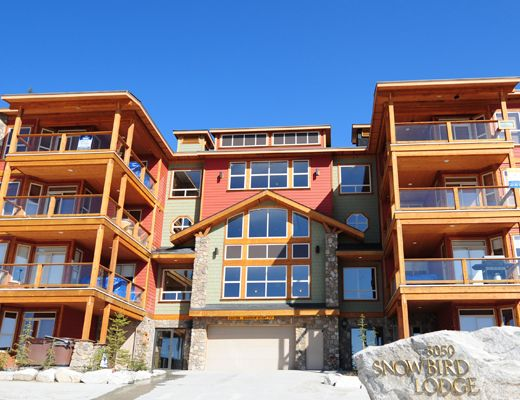 Snowbird Lodge - 2 Bdrm + Den HT (P) - Big White