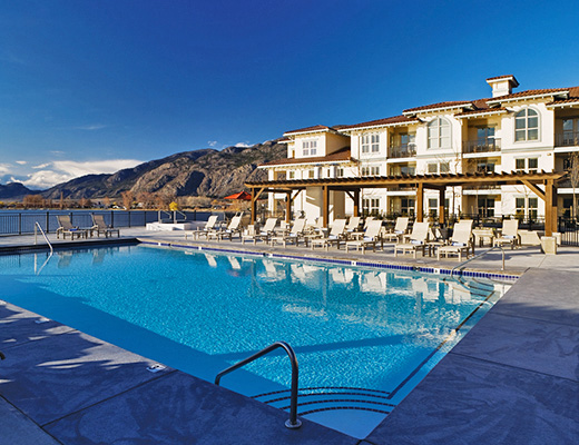 Walnut Beach Resort - Studio - Lake View - Osoyoos