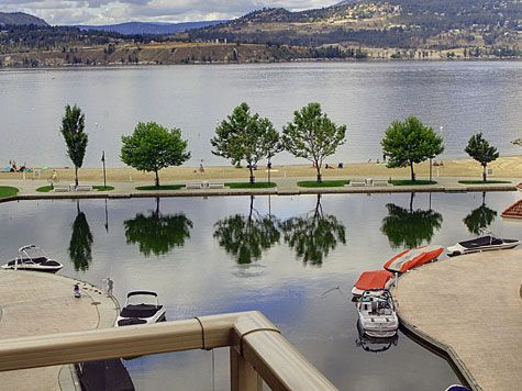 Sunset Waterfront Resort - #605 - 1 Bdrm + Den - Kelowna (KRA)