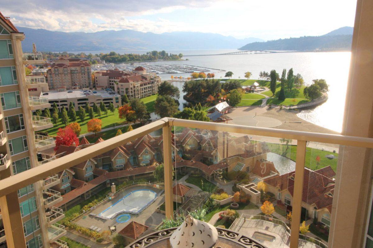 Sunset Waterfront Resort 1503 1 Bdrm Den Kelowna Kra
