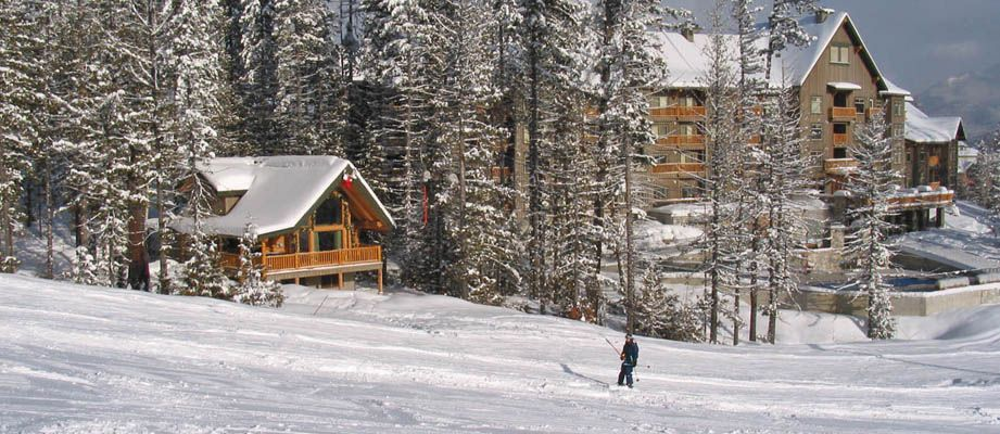Snow creek cabins 2 bedroom loft ht fernie for Fernie cabin rentals